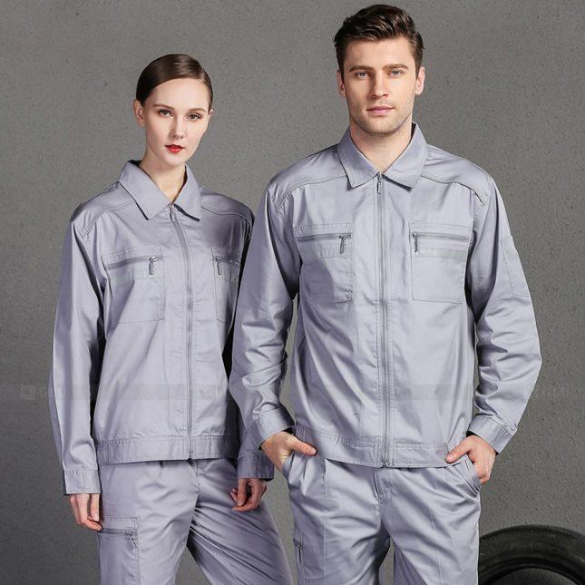 Quan ao dong phuc bao ho GLU X1002 đồng phục công nhân cơ khí
