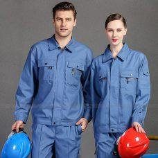 Quan ao dong phuc bao ho GLU X1013 quần áo bảo hộ lao động