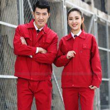 Quan ao dong phuc bao ho GLU X1017 quần áo bảo hộ lao động