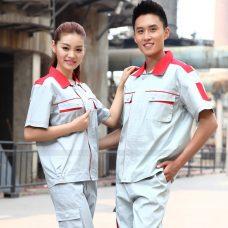 Quan ao dong phuc bao ho GLU X1026 quần áo bảo hộ lao động