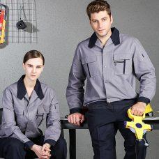 Quan ao dong phuc bao ho GLU X1031 quần áo bảo hộ lao động