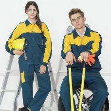 Quan ao dong phuc bao ho GLU X1032 quần áo bảo hộ lao động