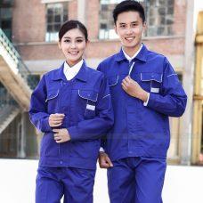 Quan ao dong phuc bao ho GLU X1035 quần áo bảo hộ lao động