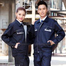 Quan ao dong phuc bao ho GLU X1040 quần áo bảo hộ lao động