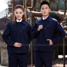 Quan ao dong phuc bao ho GLU X1045 quần áo bảo hộ lao động