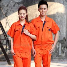 Quan ao dong phuc bao ho GLU X1046 quần áo bảo hộ lao động