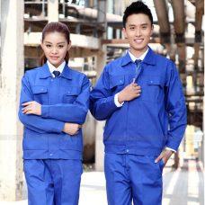 Quan ao dong phuc bao ho GLU X1085 quần áo bảo hộ lao động