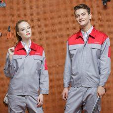 Quan ao dong phuc bao ho GLU X1088 quần áo bảo hộ lao động