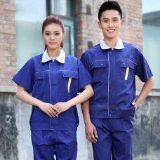 Quan ao dong phuc bao ho GLU X1090 quần áo bảo hộ lao động