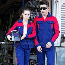 Quan ao dong phuc bao ho GLU X1091 quần áo bảo hộ lao động