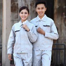 Quan ao dong phuc bao ho GLU X1095 quần áo bảo hộ lao động