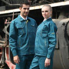 Quan ao dong phuc bao ho GLU X1097 quần áo bảo hộ lao động