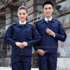 Quan ao dong phuc bao ho GLU X1103 quần áo bảo hộ lao động