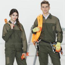 Quan ao dong phuc bao ho GLU X1104 quần áo bảo hộ lao động