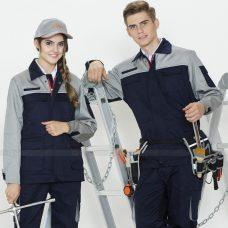 Quan ao dong phuc bao ho GLU X1106 quần áo bảo hộ lao động