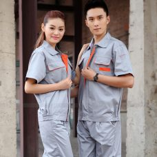 Quan ao dong phuc bao ho GLU X1107 quần áo bảo hộ lao động
