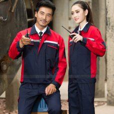Quan ao dong phuc bao ho GLU X1110 quần áo bảo hộ lao động