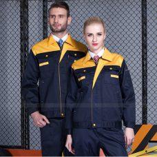 Quan ao dong phuc bao ho GLU X1112 quần áo bảo hộ lao động