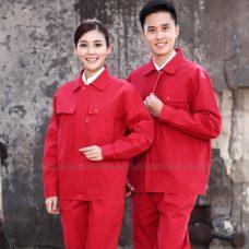 Quan ao dong phuc bao ho GLU X1115 quần áo bảo hộ lao động