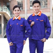 Quan ao dong phuc bao ho GLU X1116 quần áo bảo hộ lao động