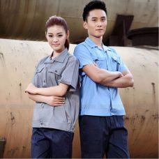 Quan ao dong phuc bao ho GLU X1118 quần áo bảo hộ lao động