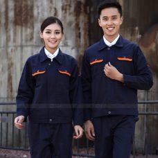 Quan ao dong phuc bao ho GLU X1124 quần áo bảo hộ lao động