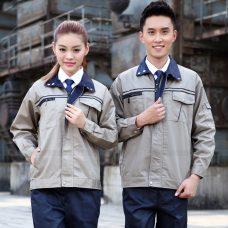 Quan ao dong phuc bao ho GLU X1127 quần áo bảo hộ lao động