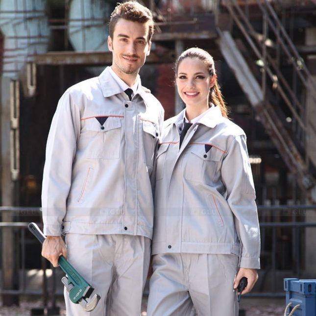 Quan ao dong phuc bao ho GLU X1128 đồng phục công nhân cơ khí