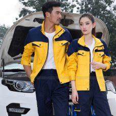 Quan ao dong phuc bao ho GLU X1132 quần áo bảo hộ lao động