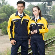 Quan ao dong phuc bao ho GLU X1133 quần áo bảo hộ lao động