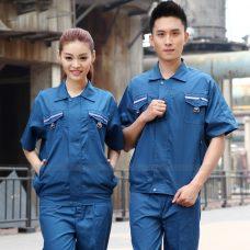 Quan ao dong phuc bao ho GLU X1135 quần áo bảo hộ lao động