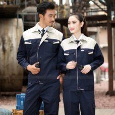 Quan ao dong phuc bao ho GLU X1136 quần áo bảo hộ lao động