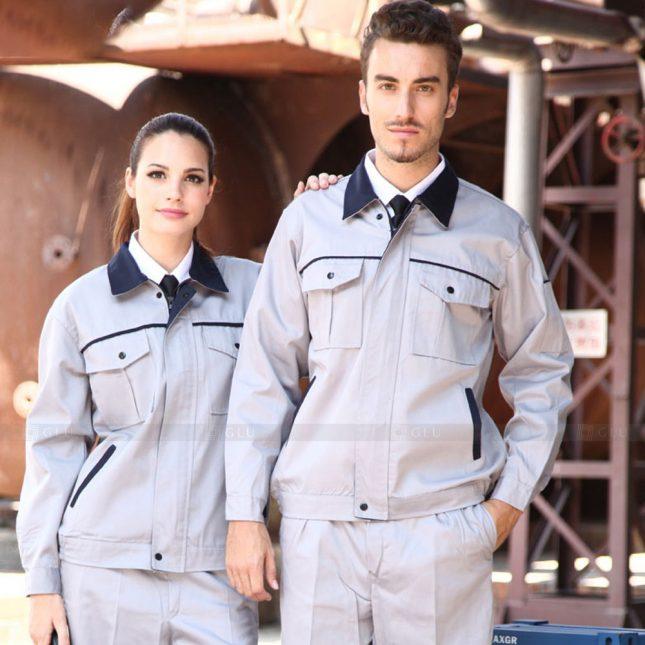 Quan ao dong phuc bao ho GLU X1137 đồng phục công nhân cơ khí