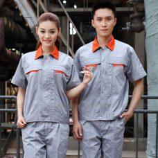 Quan ao dong phuc bao ho GLU X1138 quần áo bảo hộ lao động