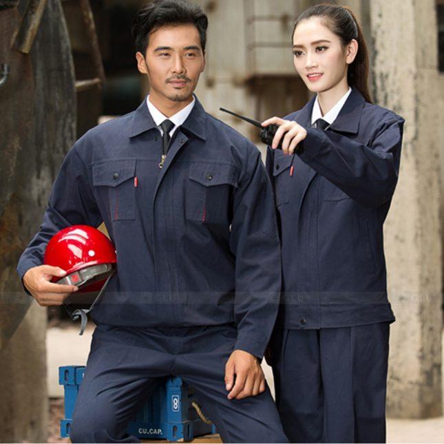 Quan ao dong phuc bao ho GLU X1139 đồng phục công nhân cơ khí