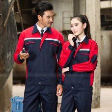 Quan ao dong phuc bao ho GLU X1140 quần áo bảo hộ lao động