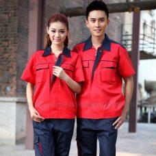 Quan ao dong phuc bao ho GLU X1141 quần áo bảo hộ lao động