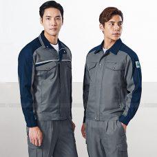 Quan ao dong phuc bao ho GLU X1143 quần áo bảo hộ lao động