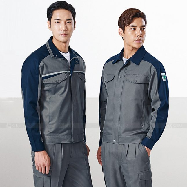 Quan ao dong phuc bao ho GLU X1143 đồng phục công nhân cơ khí