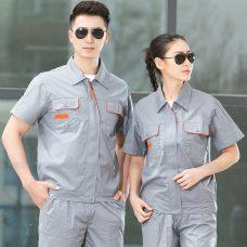 Quan ao dong phuc bao ho GLU X1145 quần áo bảo hộ lao động