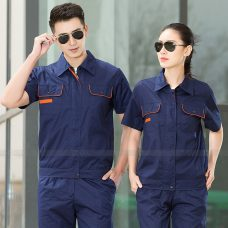 Quan ao dong phuc bao ho GLU X1146 quần áo bảo hộ lao động