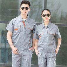 Quan ao dong phuc bao ho GLU X1147 quần áo bảo hộ lao động