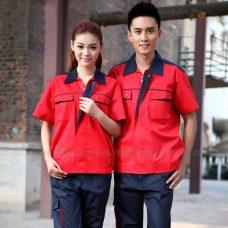 Quan ao dong phuc bao ho GLU X1148 quần áo bảo hộ lao động