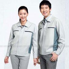 Quan ao dong phuc bao ho GLU X1161 quần áo bảo hộ lao động