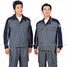 Quan ao dong phuc bao ho GLU X141 quần áo bảo hộ lao động