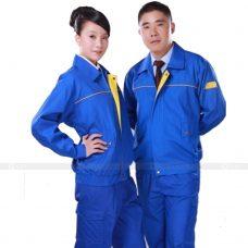 Quan ao dong phuc bao ho GLU X143 quần áo bảo hộ lao động