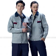 Quan ao dong phuc bao ho GLU X147 quần áo bảo hộ lao động