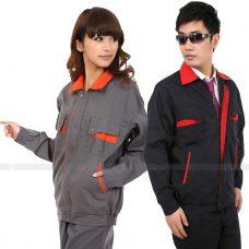 Quan ao dong phuc bao ho GLU X148 quần áo bảo hộ lao động