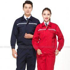 Quan ao dong phuc bao ho GLU X150 quần áo bảo hộ lao động