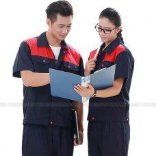 Quan ao dong phuc bao ho GLU X151 quần áo bảo hộ lao động